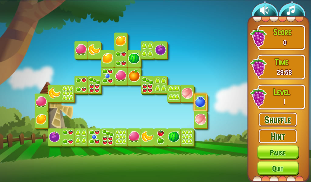 Fruit Flip Mahjongg Android Apps On Google Play