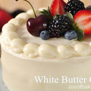 White Butter Cake Tested