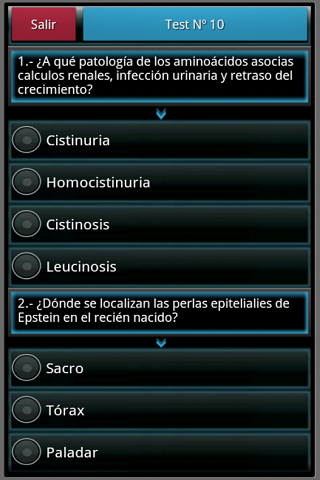 【免費醫療App】Pediatría en preguntas y tests-APP點子