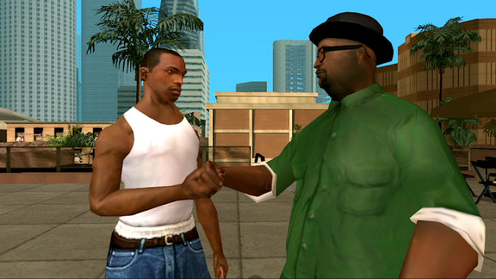Grand Theft Auto: San Andreas Android App Screenshot