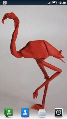 華やかな折り紙ライブ壁紙のおすすめ画像4
