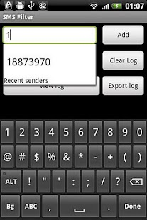 SMS Filter - screenshot thumbnail