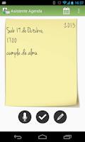 Screenshot of Asistente Agenda