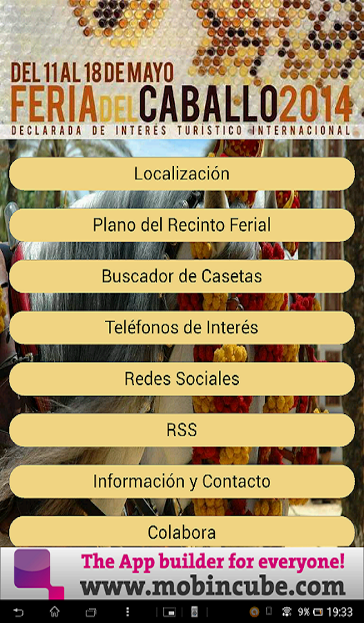Feria del Caballo Jerez 2014 - screenshot