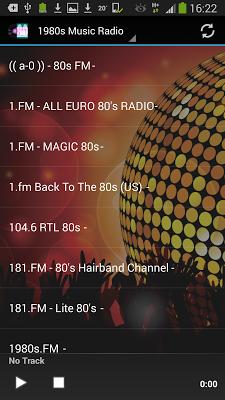 80s Radio Top Eighties Music - screenshot