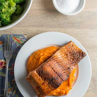 Simple Pan Seared Salmon
