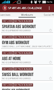 Spartan Abs:Six Pack Workouts v1.1.1