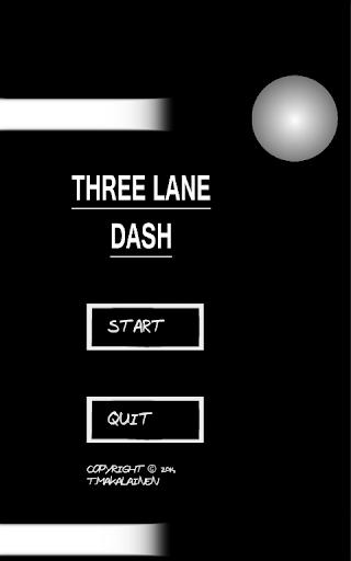 Three Lane Dash