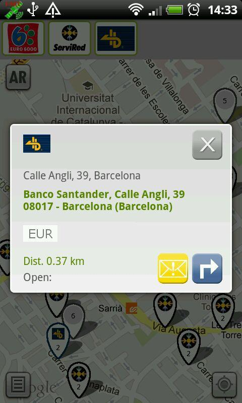 ATMs Barcelona - screenshot