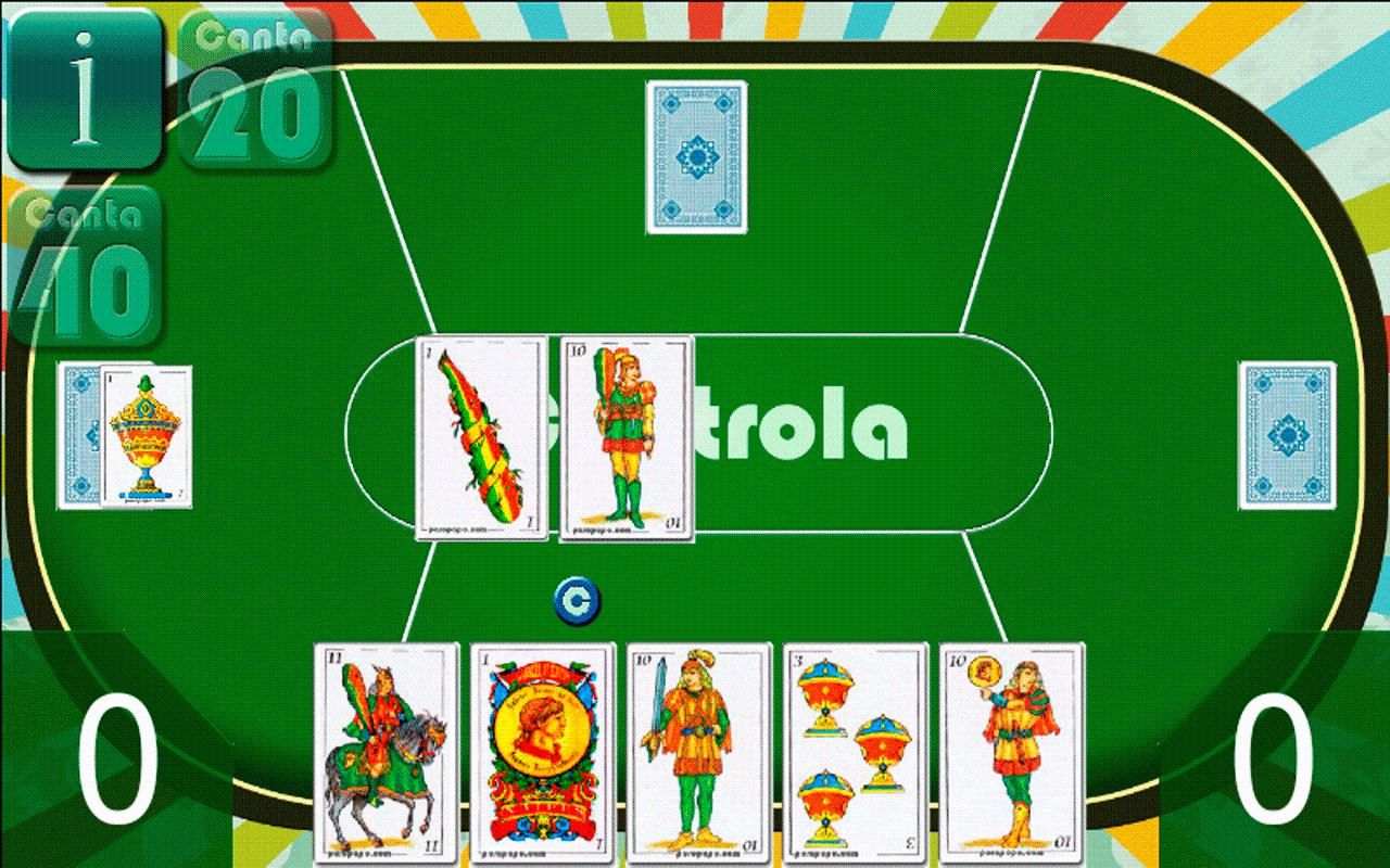 Spanish Solitaire Noads - screenshot