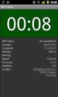 Screenshot of GPS Timer