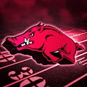 Arkansas Razorbacks Wallpaper logo