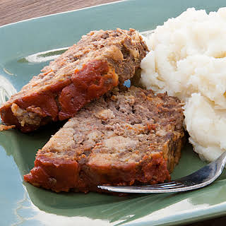 Saucy Meatloaf.