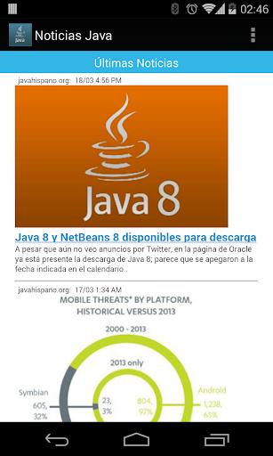 Noticias Java