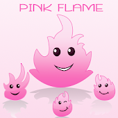 Keyboard Pink Flame