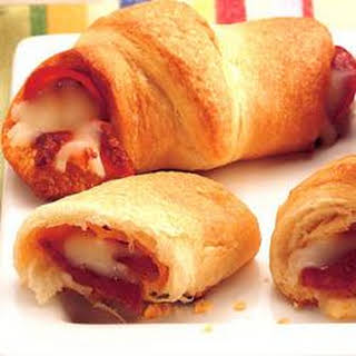 Pepperoni 'n Cheese Crescents.