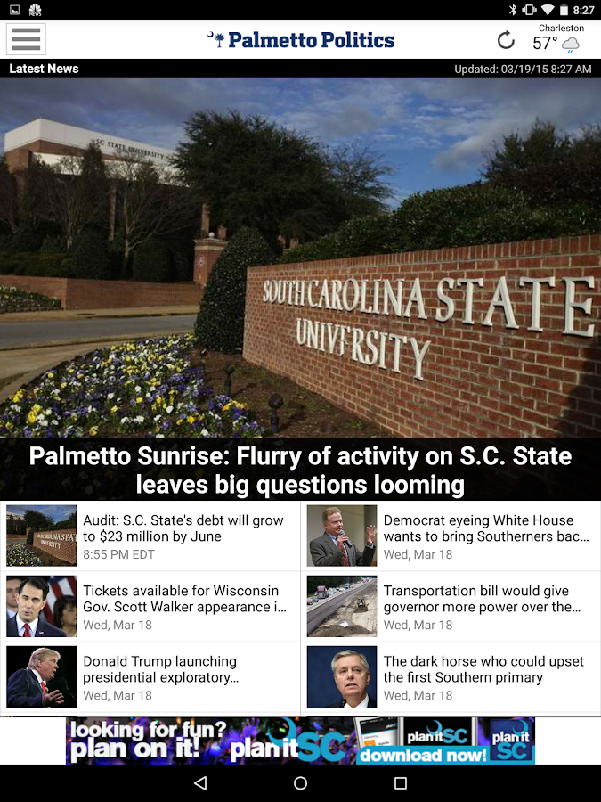 Palmetto Politics- screenshot