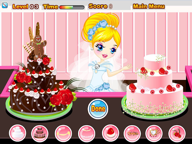 Wedding cake contest Android App Screenshot
