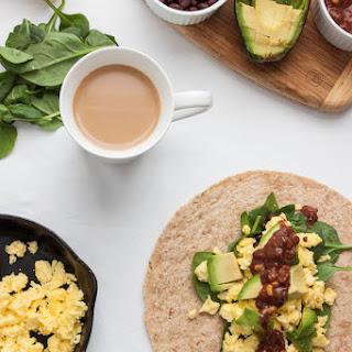 5-Minute Breakfast Burrito Recipe