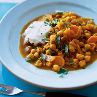 Chickpea Tagine with Cinnamon, Cumin, and Carrots