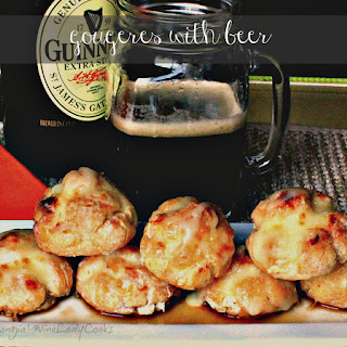 Gougeres With Beer