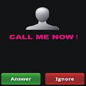 Fake Call [Call Me Now] icon
