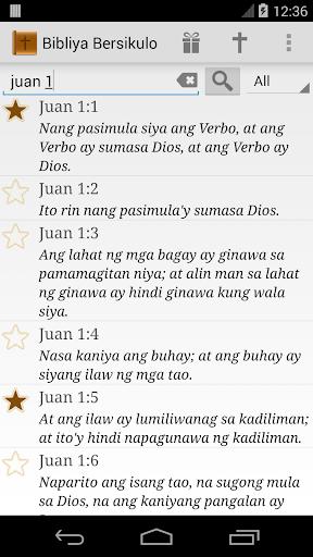 Daily Bible Tagalog