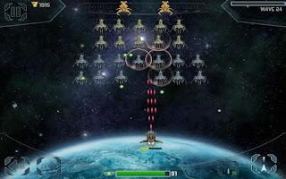 Screenshot of Space Cadet Defender Invaders