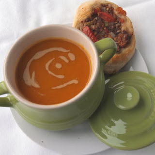 Lebanese Spiced Butternut Squash Soup