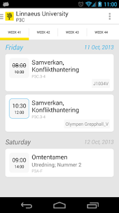 Uni-Schedule Lite - screenshot thumbnail