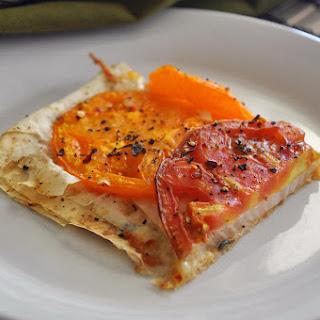 Herb Phyllo Tomato Tart
