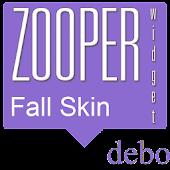 Fall Zooper Skin