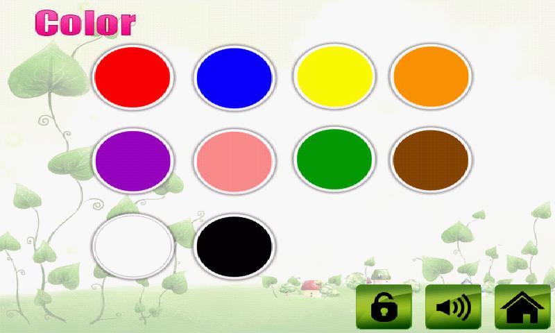 fruit veg shape color for kids android app screenshot