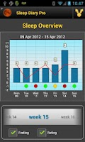 Screenshot of Sleep Diary Lite