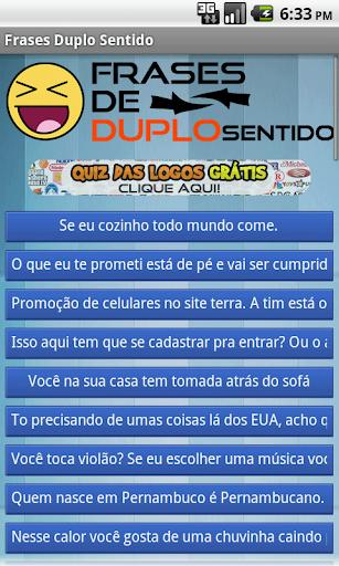 Frases de Duplo Sentido 1.2 screenshots 1