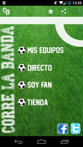 CORRELABANDA Resultados Fútbol