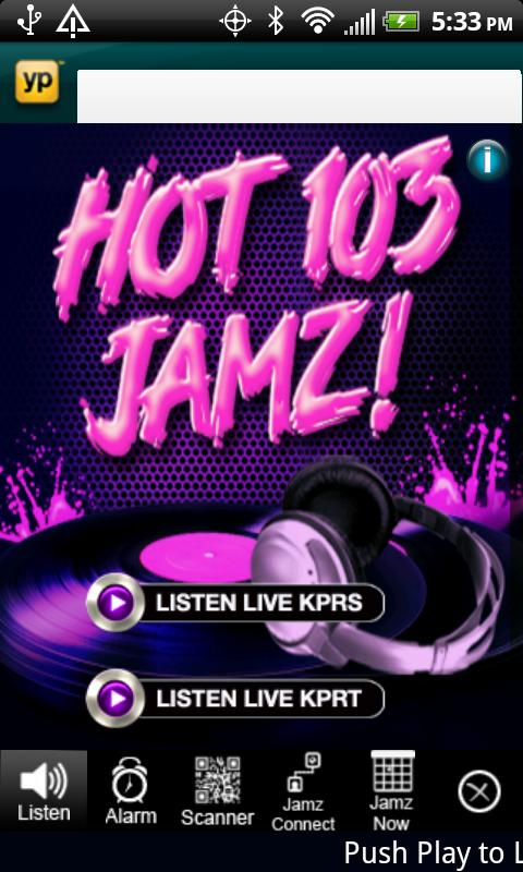 KPRS Hot 103 Jamz - screenshot