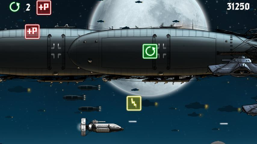 IRON SKY - The Arcade Shooter- screenshot