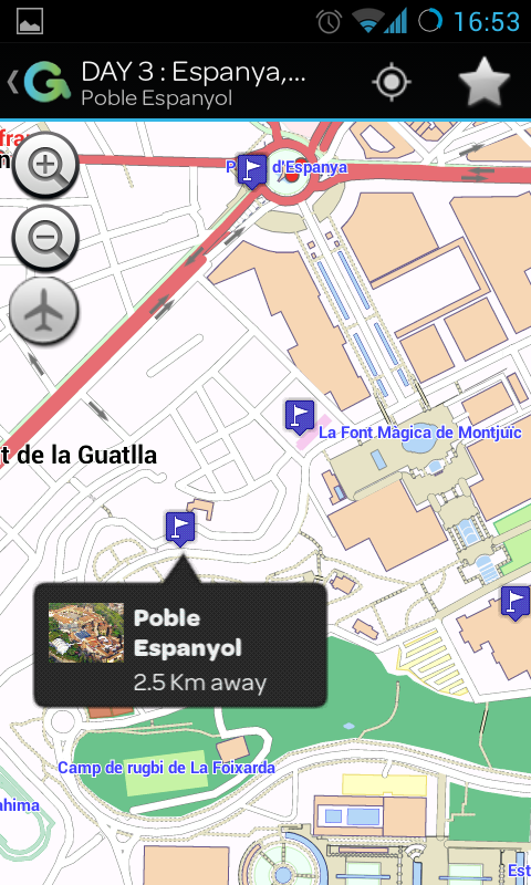 Barcelona Curious Guide- screenshot