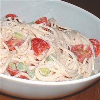 Spicy Spaghetti Salad