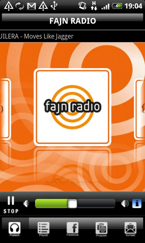 FAJN RADIO - screenshot