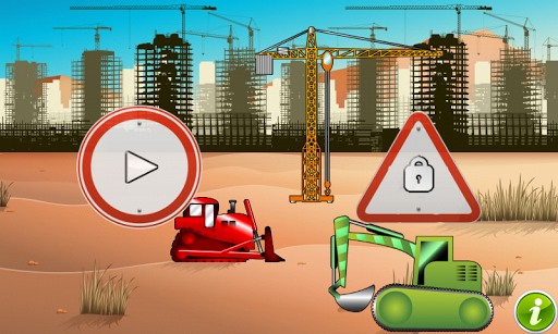 Diggers and Truck for Toddlers
