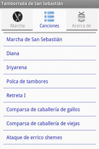 Tamborrada de San Sebastian - screenshot
