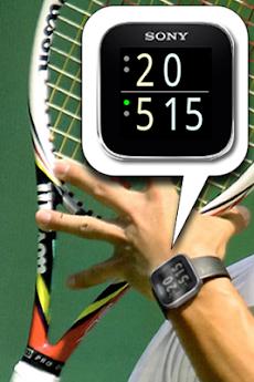 テニスウォッチMN2のおすすめ画像1