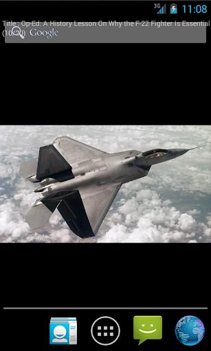 F-22 Raptor Live Wallpaper