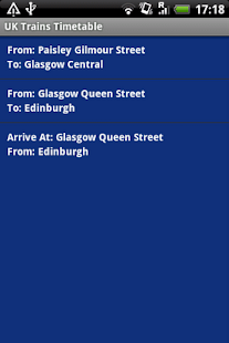 UK Trains Timetable Free - screenshot thumbnail