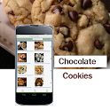 Chocolate chip cookie recipe icon