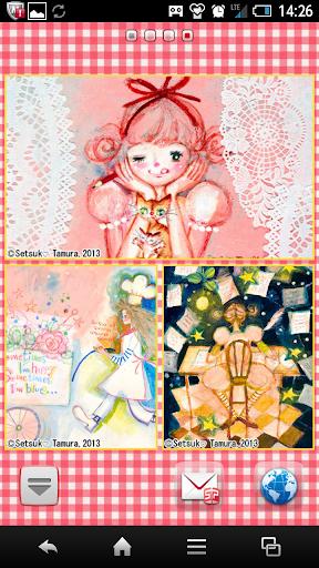 玩個人化App|田村セツコマルチフレーム壁紙免費|APP試玩