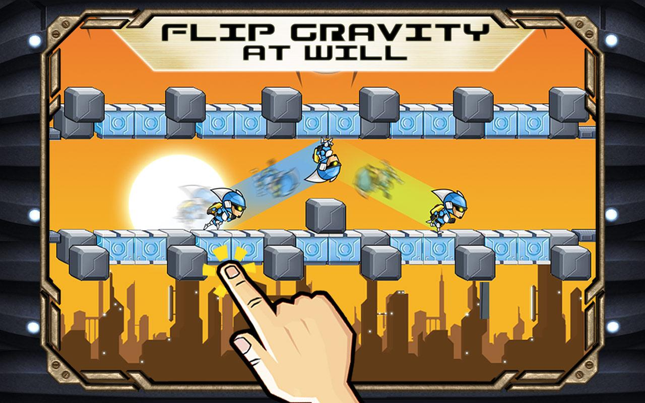 Gravity Guy FREE- screenshot