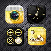 Gold & Diamond Atom Theme